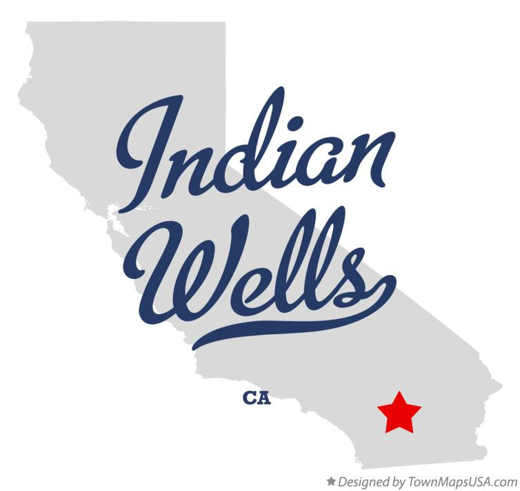 Map of Indian Wells California CA