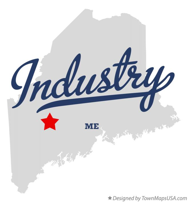Map of Industry Maine ME