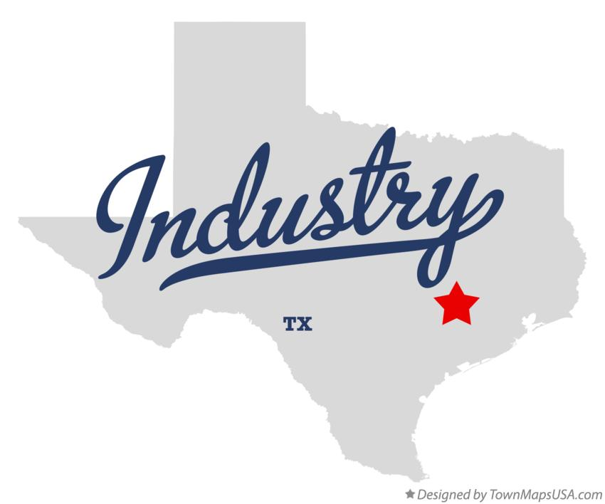 Map of Industry Texas TX