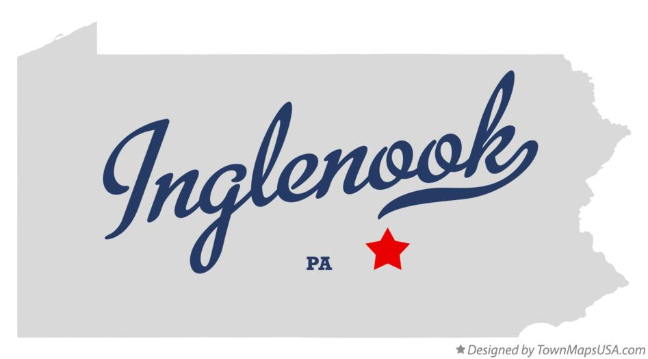Map of Inglenook Pennsylvania PA