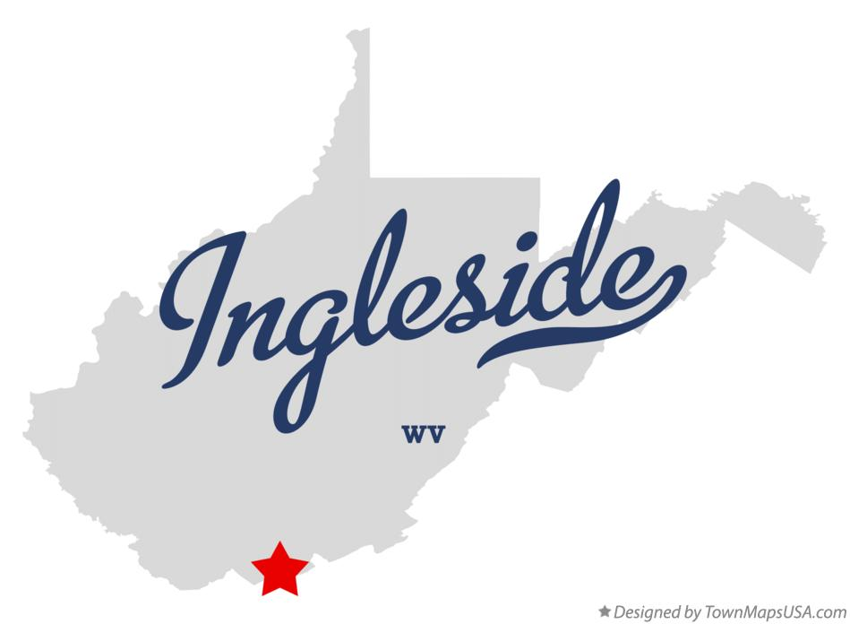 Map of Ingleside West Virginia WV