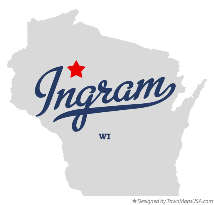 Map of Ingram Wisconsin WI