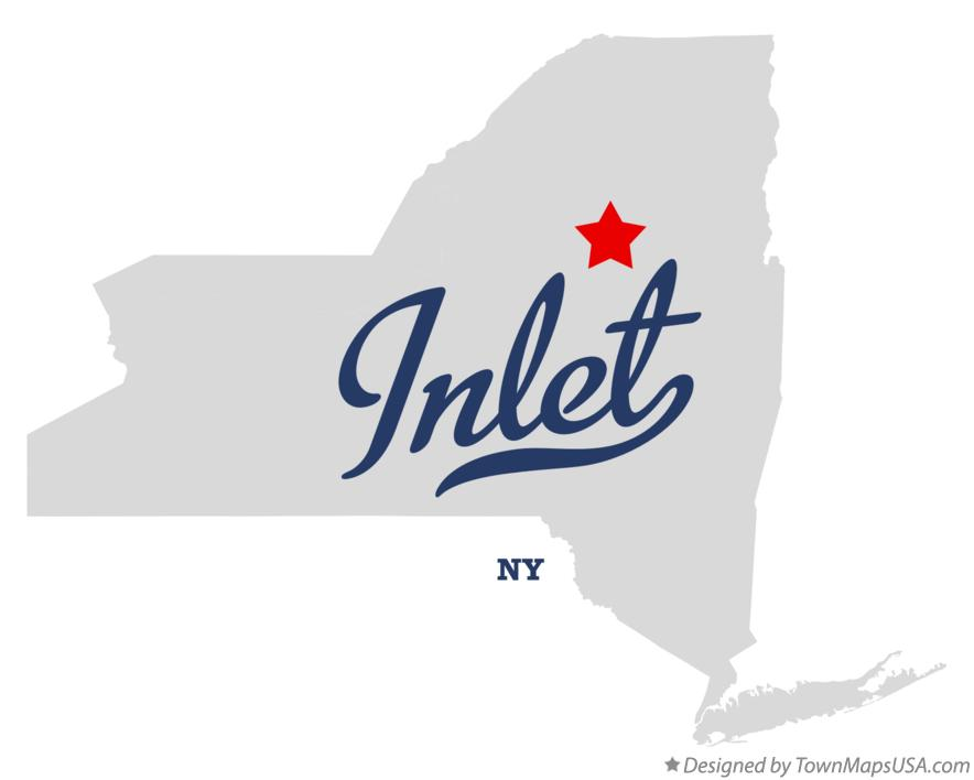 Map of Inlet New York NY