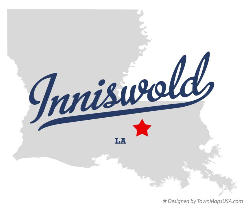 Map of Inniswold Louisiana LA