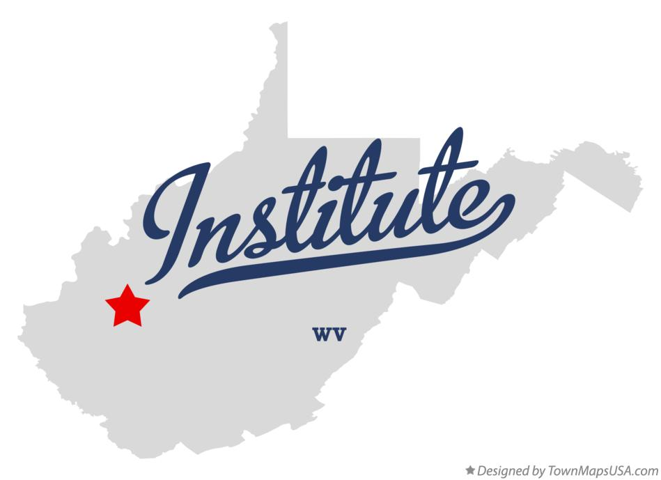 Map of Institute West Virginia WV