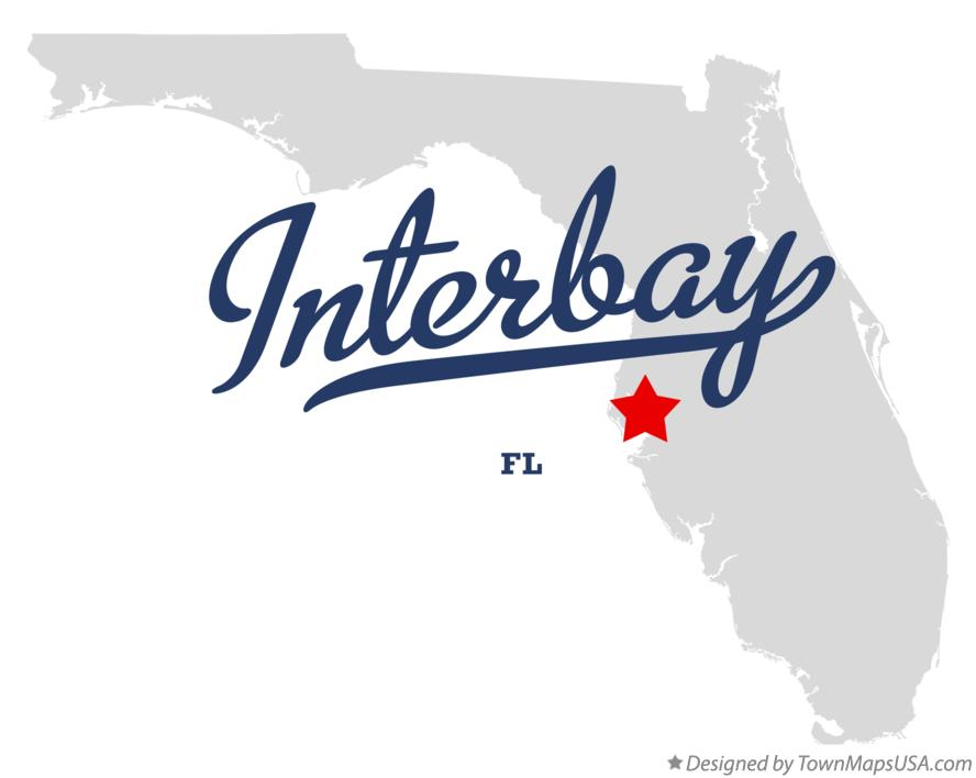 Map of Interbay Florida FL