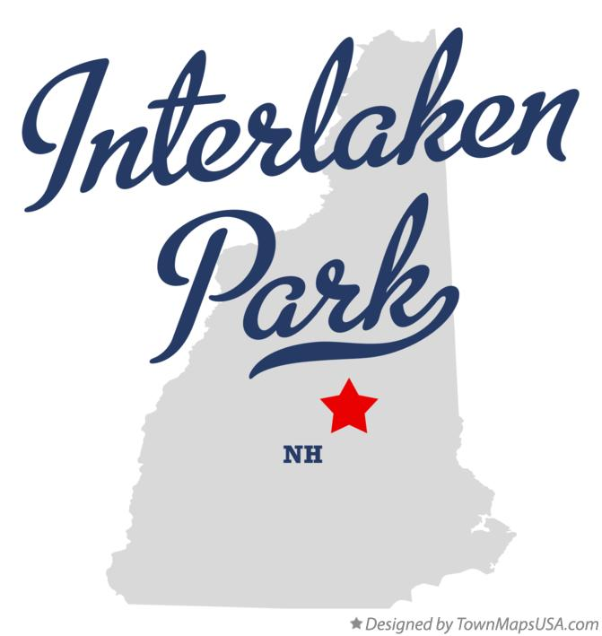 Map of Interlaken Park New Hampshire NH