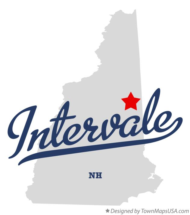 Map of Intervale New Hampshire NH