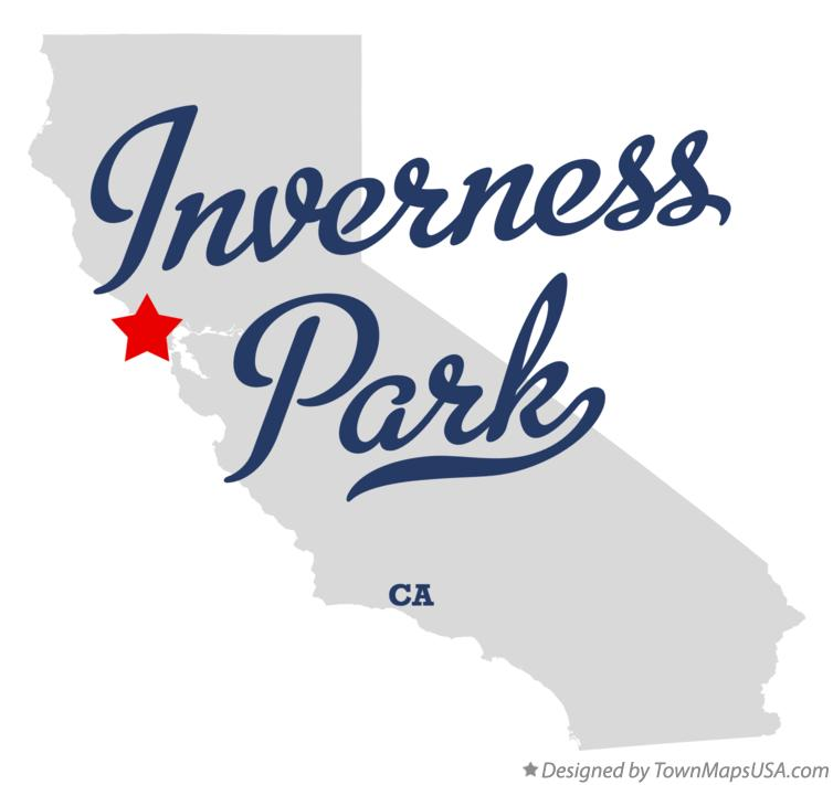 Map of Inverness Park California CA