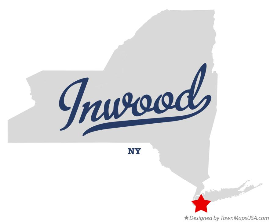 Map of Inwood New York NY