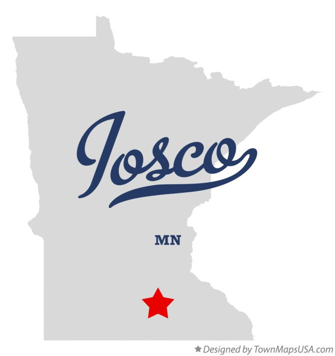 Map of Iosco Minnesota MN