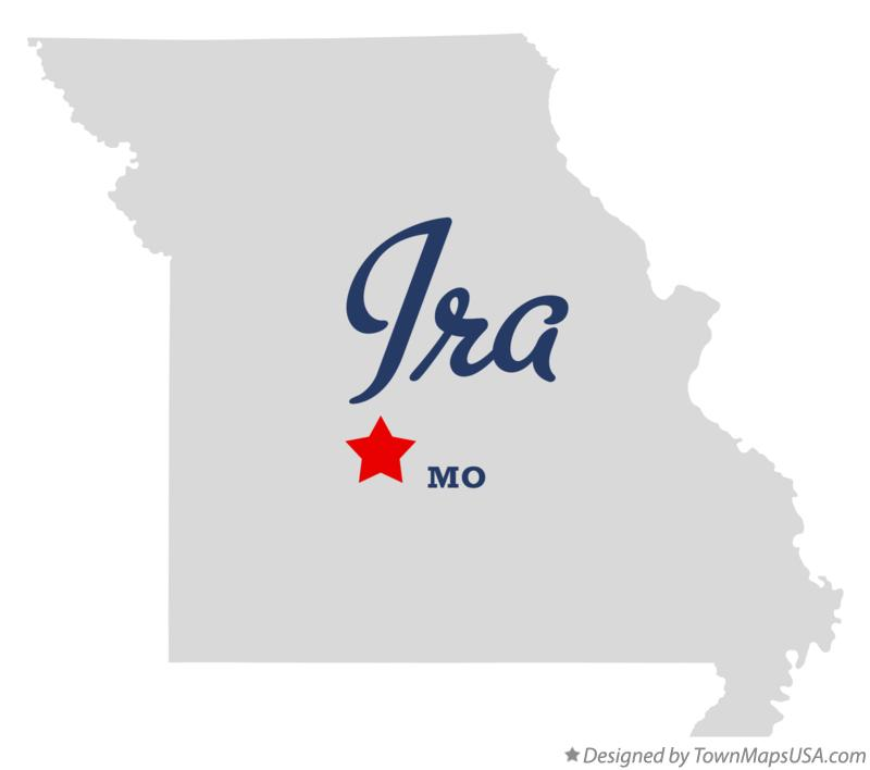 Map of Ira Missouri MO