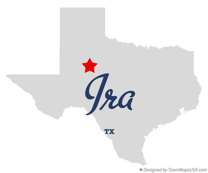 Map of Ira Texas TX