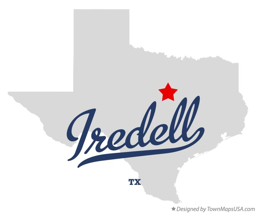 Map of Iredell Texas TX