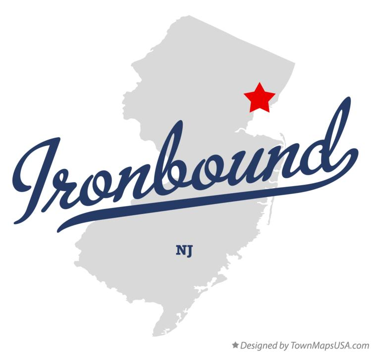 Map of Ironbound New Jersey NJ