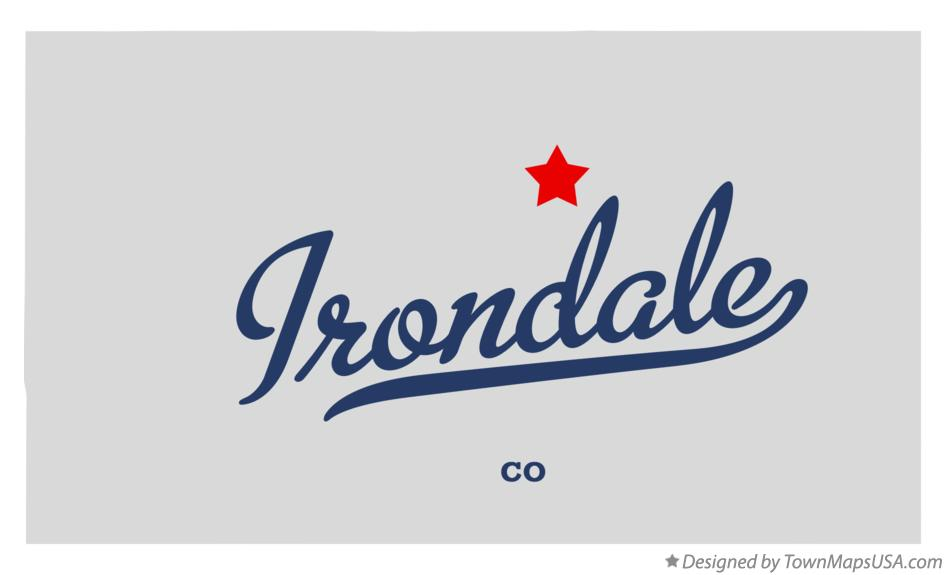 Map of Irondale Colorado CO