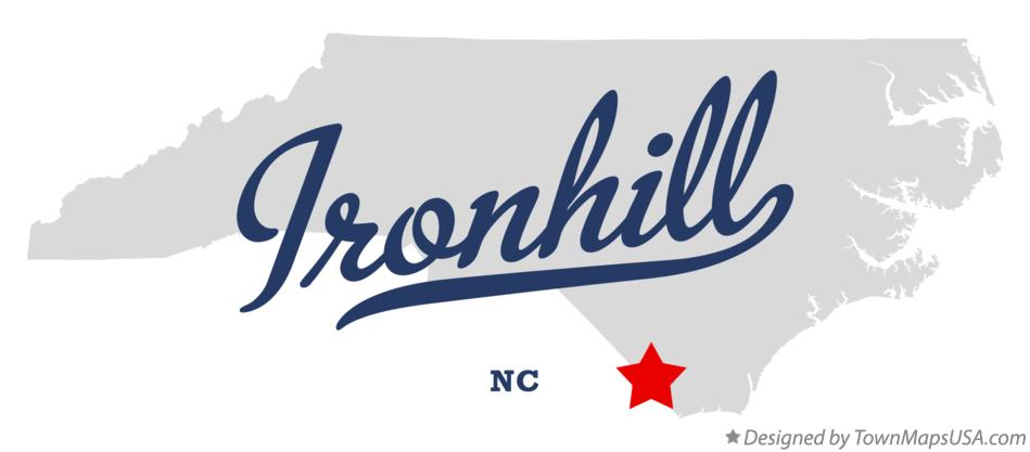 Map of Ironhill North Carolina NC