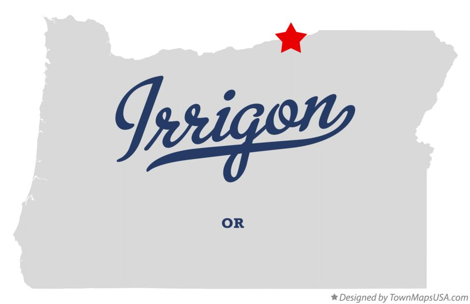 Irrigon Oregon Map.Map Of Irrigon Or Oregon