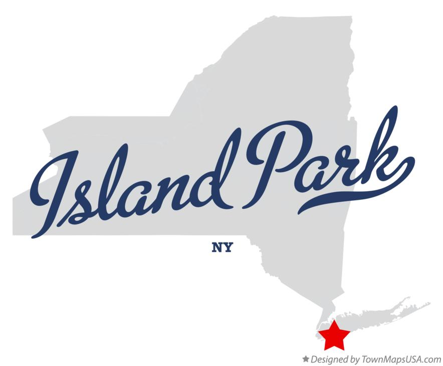 Map of Island Park New York NY