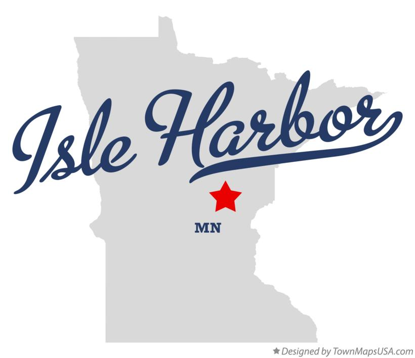 Map of Isle Harbor Minnesota MN