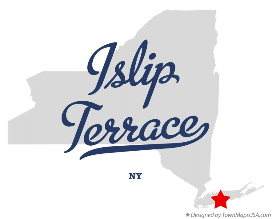 Map of Islip Terrace New York NY