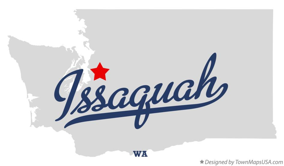 Map Of Issaquah Wa Washington
