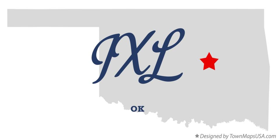 Map of IXL Oklahoma OK
