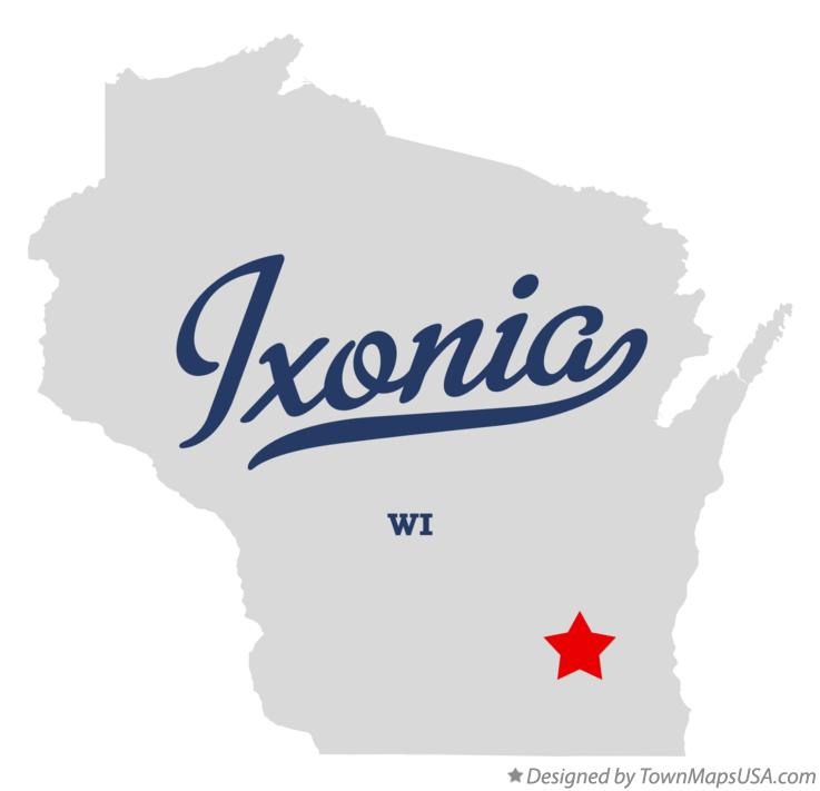 Map of Ixonia Wisconsin WI