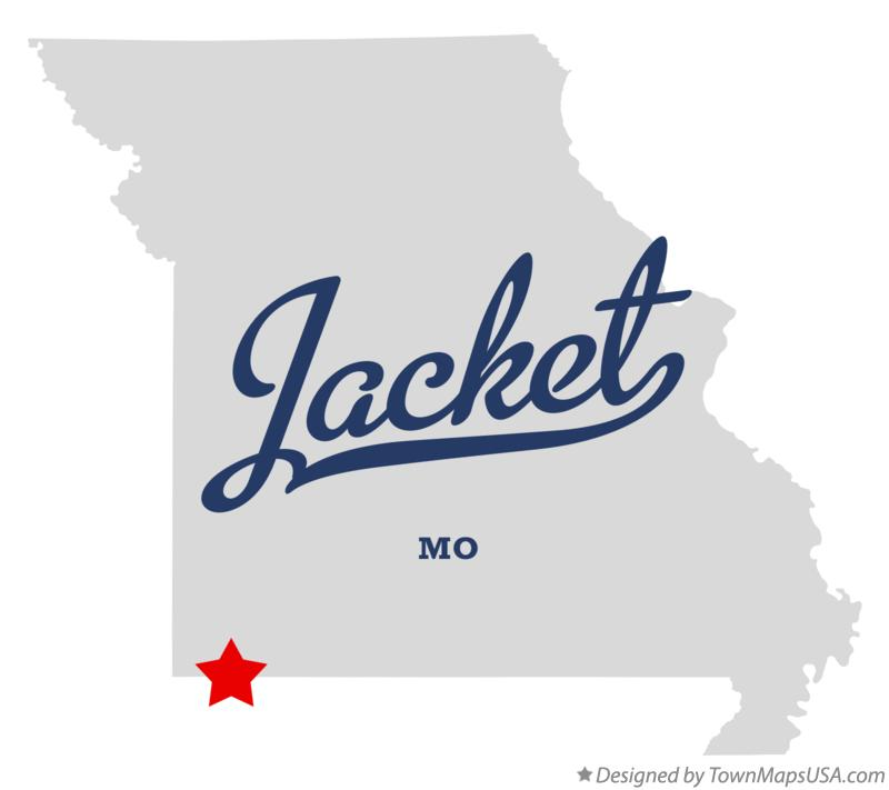 Map of Jacket Missouri MO