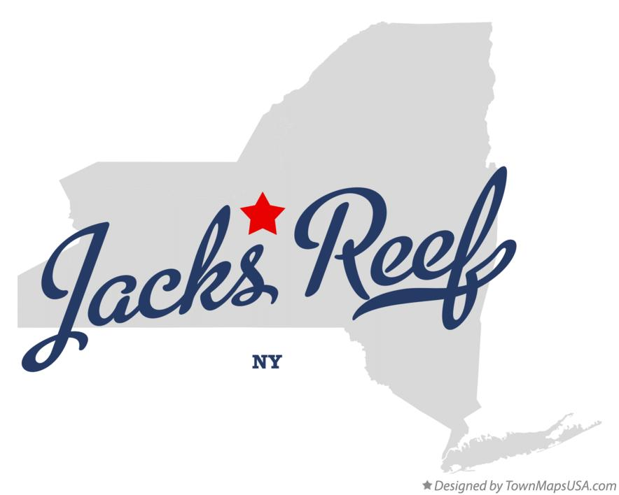 Map of Jacks Reef New York NY