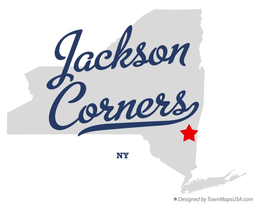 Map of Jackson Corners New York NY