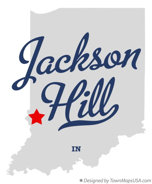 Map of Jackson Hill Indiana IN