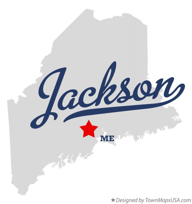 Map of Jackson Maine ME