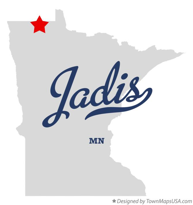 Map of Jadis Minnesota MN