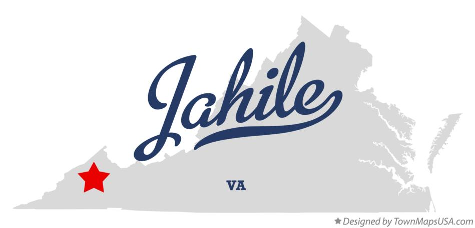 Map of Jahile Virginia VA