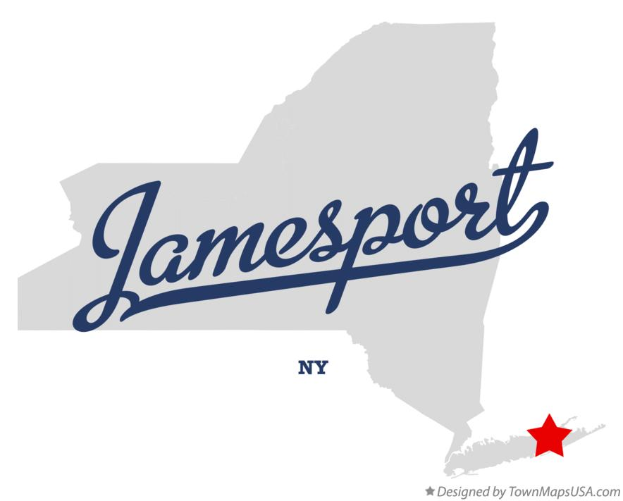 Map of Jamesport New York NY