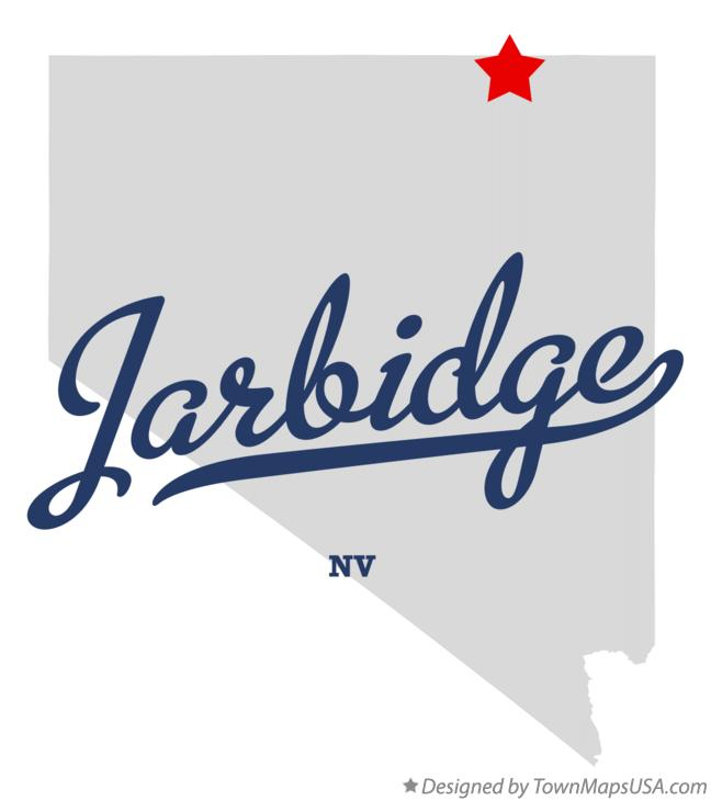 Map of Jarbidge Nevada NV