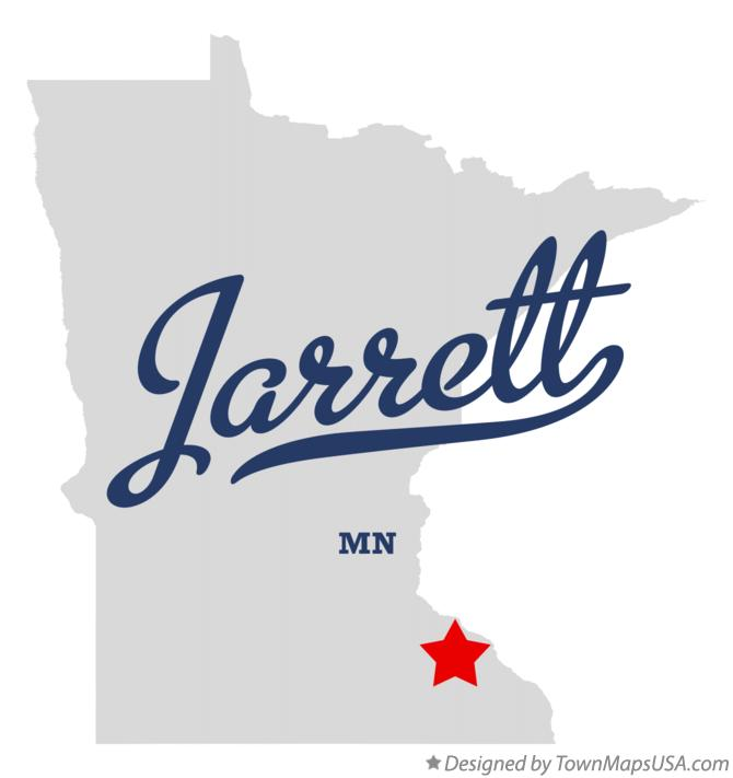 Map of Jarrett Minnesota MN