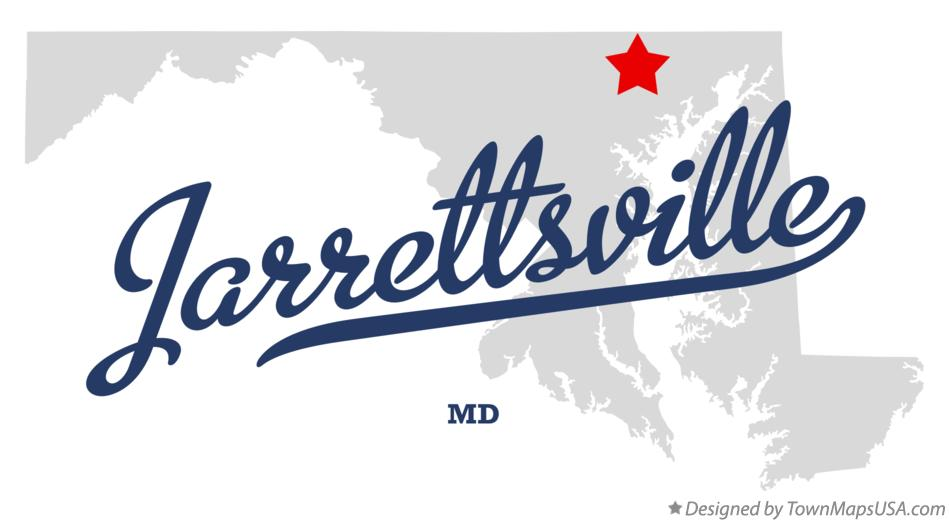 Map of Jarrettsville Maryland MD