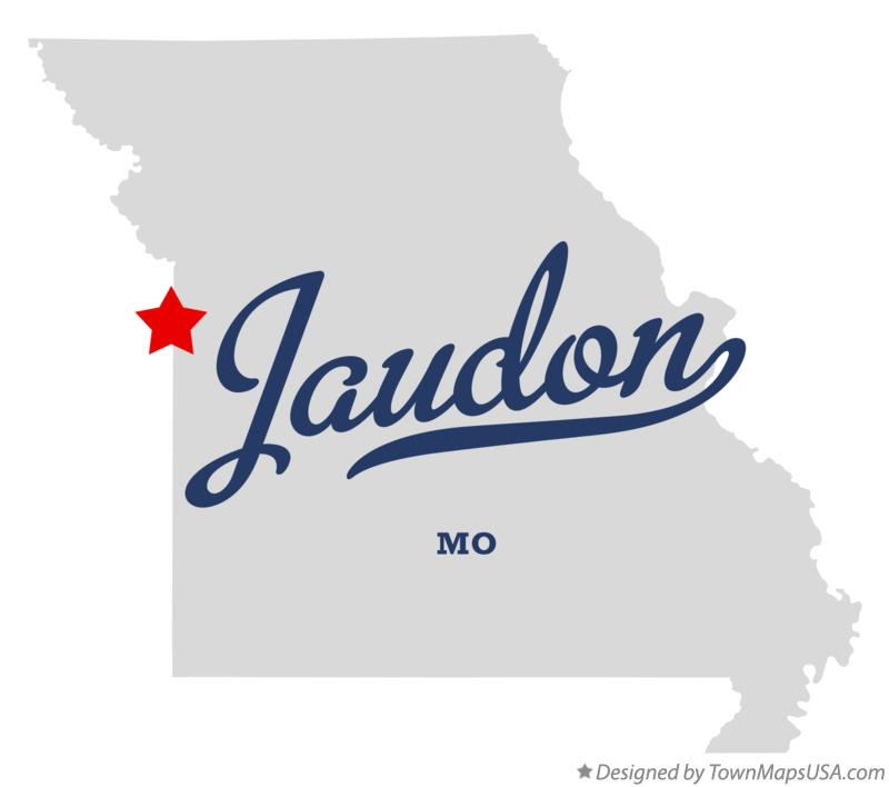 Map of Jaudon Missouri MO