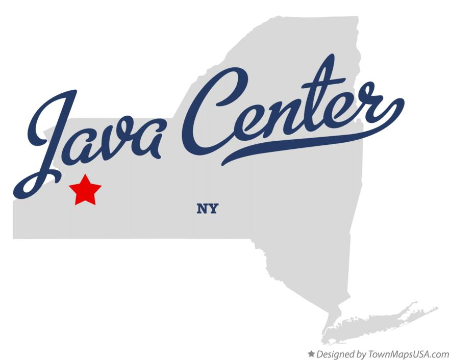 Map of Java Center New York NY