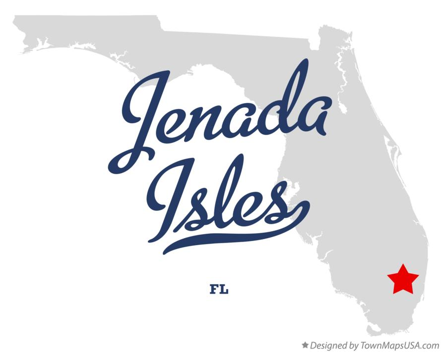 Map of Jenada Isles Florida FL