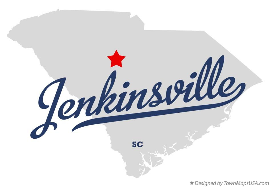 Map of Jenkinsville South Carolina SC