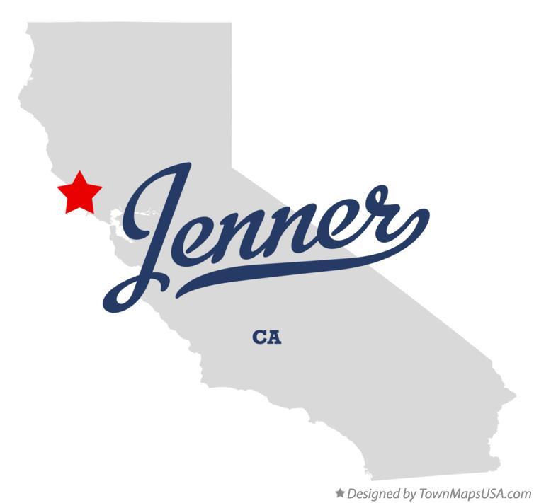 Map Of Jenner California.Map Of Jenner Ca California