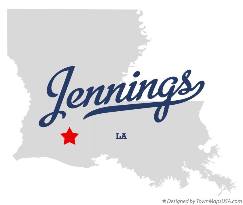 map of jennings louisiana Map Of Jennings La Louisiana map of jennings louisiana