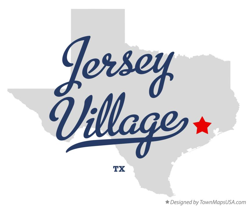 Map of Jersey Village Texas TX