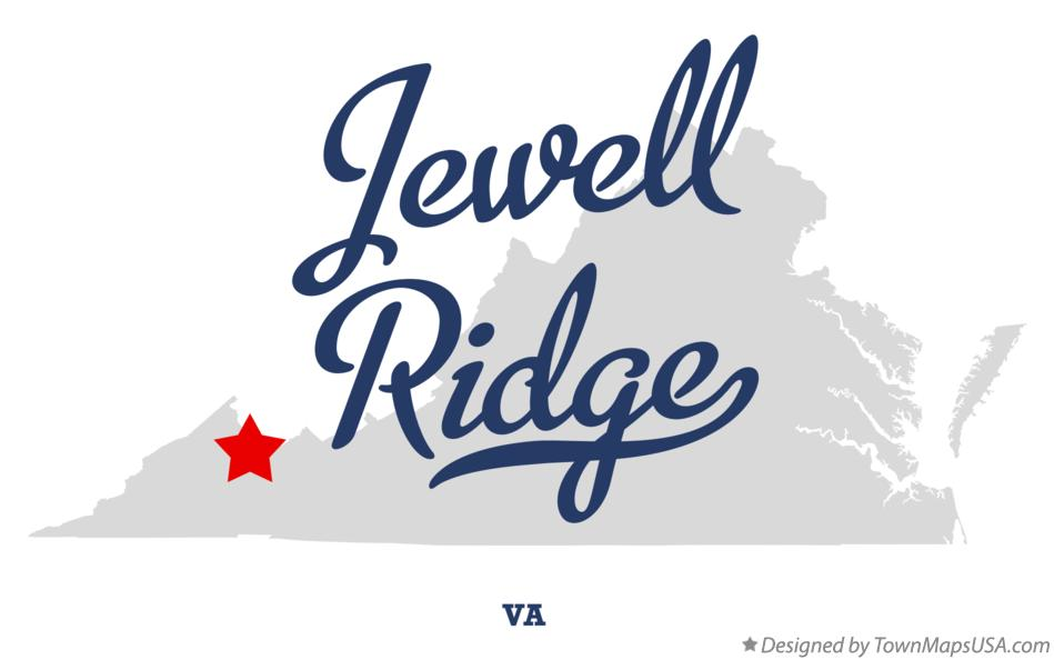 Map of Jewell Ridge Virginia VA