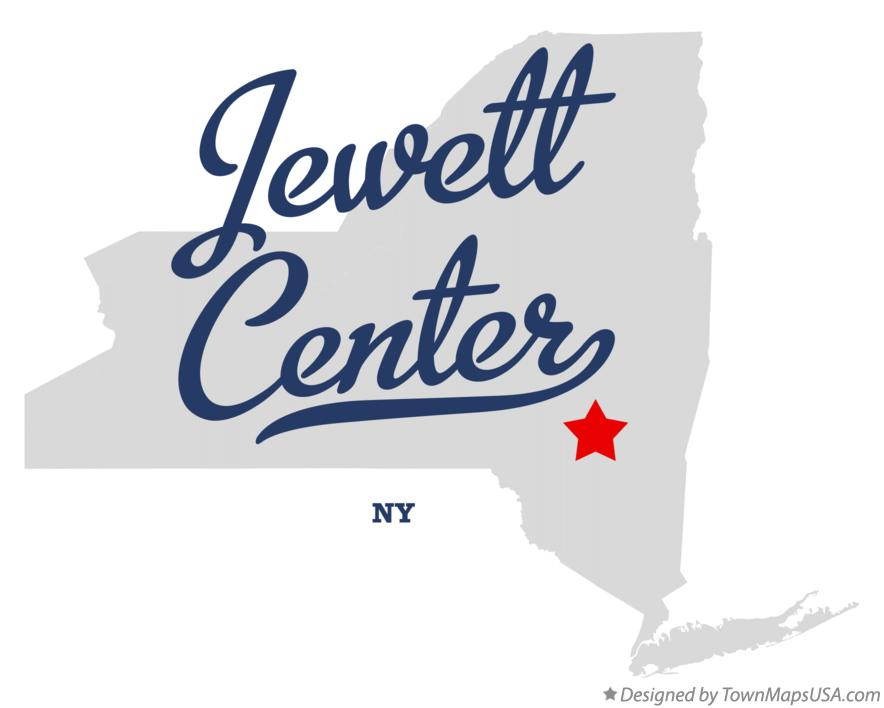 Map of Jewett Center New York NY