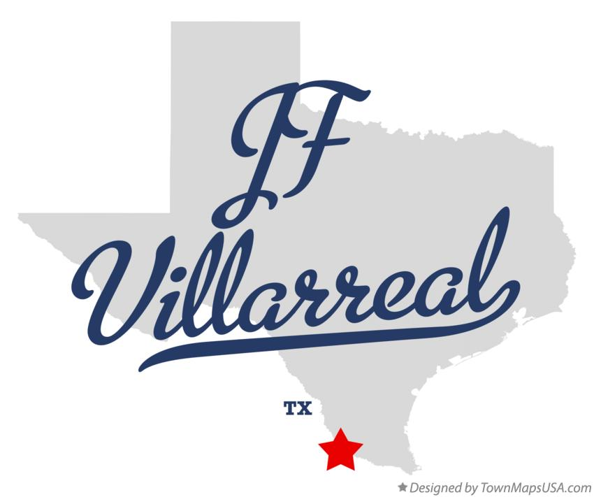 Map of JF Villarreal Texas TX
