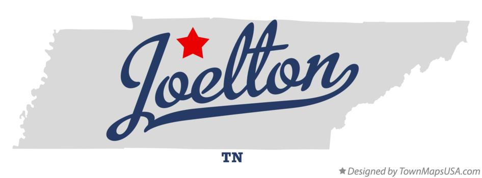 Map of Joelton Tennessee TN
